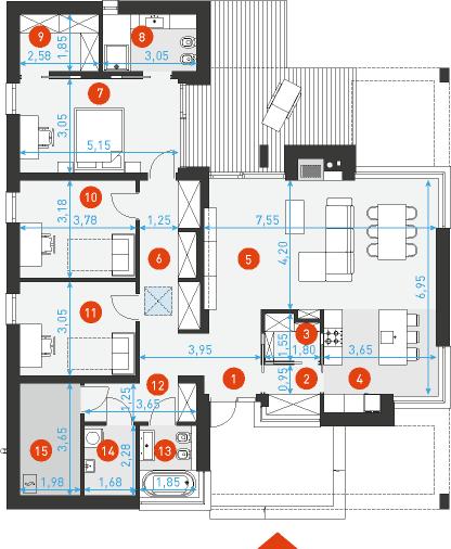 Одноэтажный 2